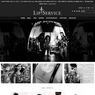 Lip Service - Punk Rock & Goth Clothing