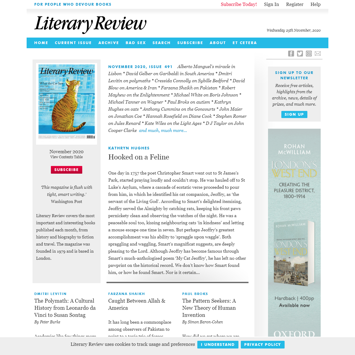 Literary Review - For People Who Devour Books