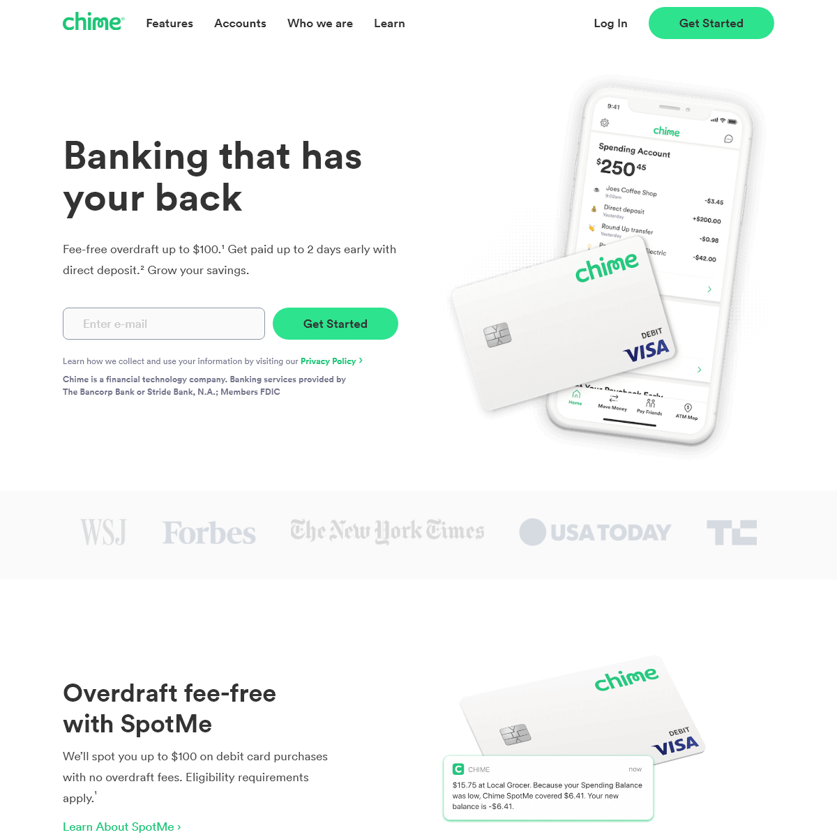 Chime - Banking with No Hidden Fees and Free Overdraft