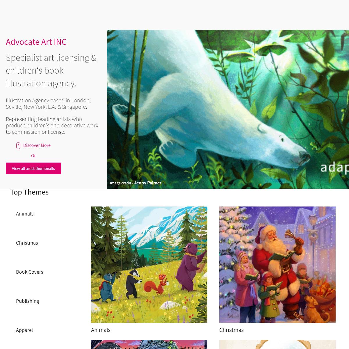 Illustration Agency - Advocate - Art