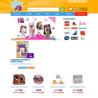 De Grote Speelgoedwinkel - Speelgoed online kopen