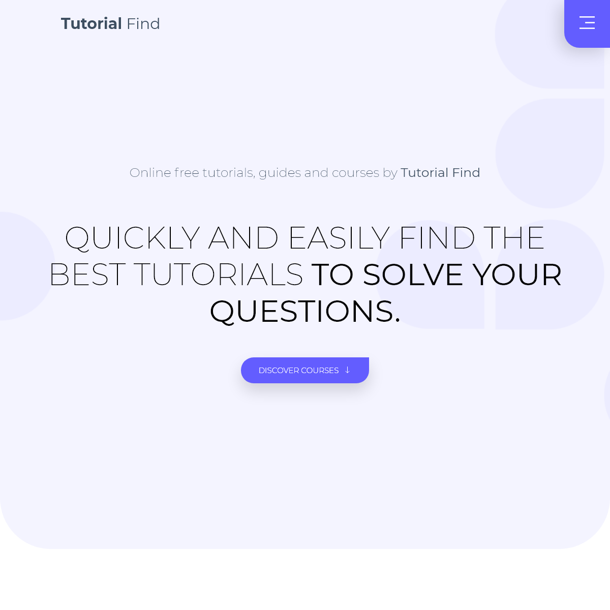 Tutorial Find - Tutorial Find