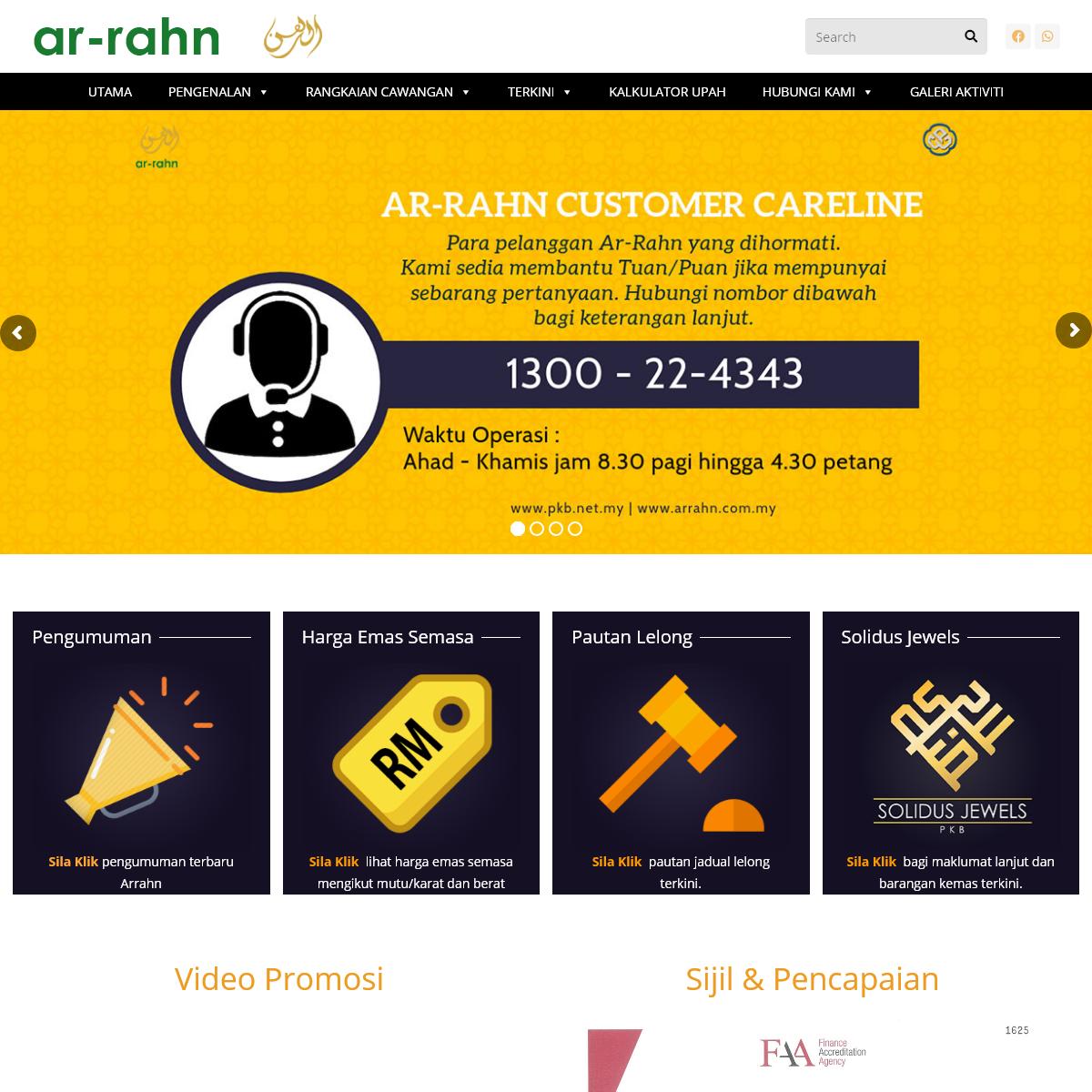 Ar-Rahn – Pajak Gadai Islam