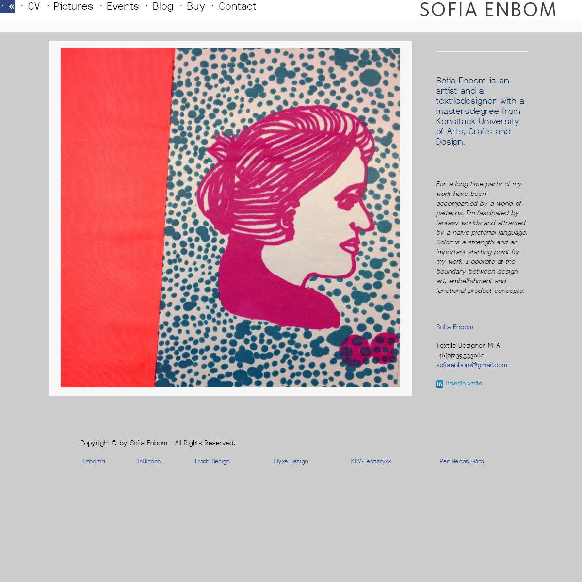 Sofia Enbom