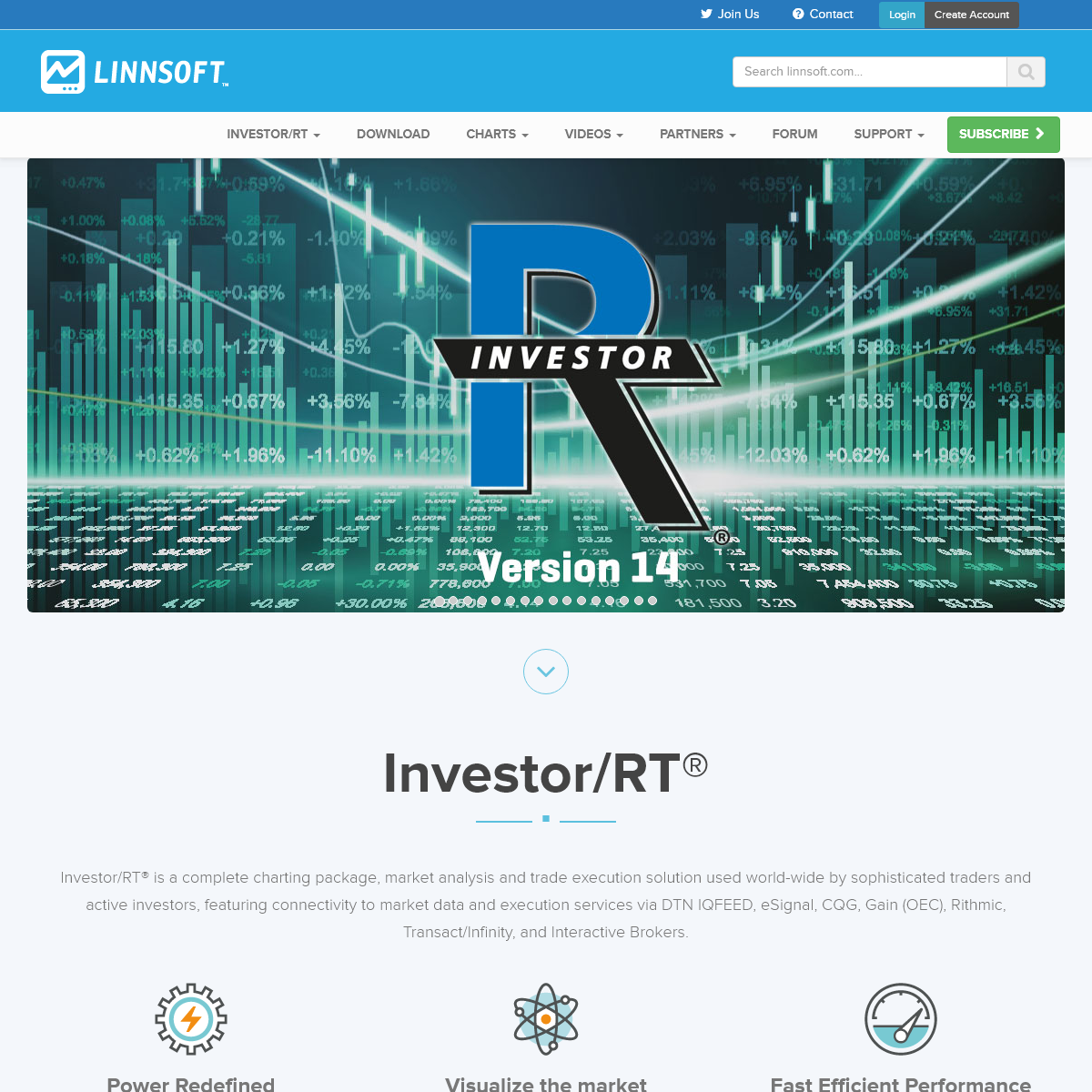 Linn Software - Official Site of Investor-RT® Trading Software