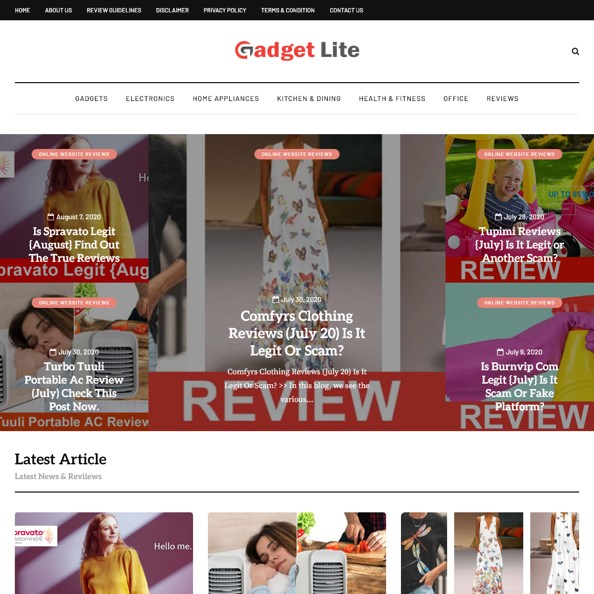 GadgetLite Reviews - Latest Gadgets And Technology News!