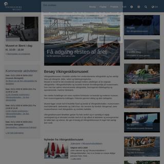 Vikingeskibe og maritime håndværk- Vikingeskibsmuseet i Roskilde