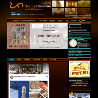 Official Website of the National Museum of the Philippines