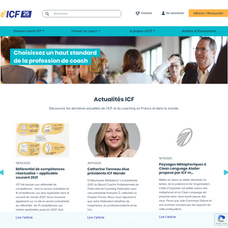 Coaching Professionnel ICF France
