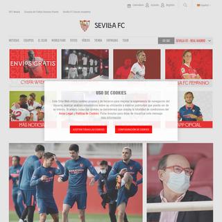 Web Oficial - Sevilla FC