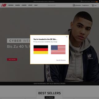New Balance Schuhe & Bekleidung - Offizielle Webseite New Balance®