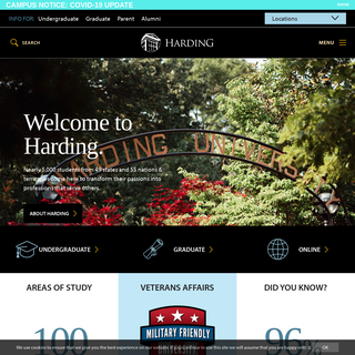 Harding - A Community of Mission