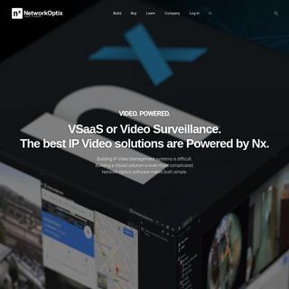 IP Video Management. Made Simple. - Network Optix