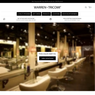 Warren Tricomi Salon - Professional Hair and Beauty Care