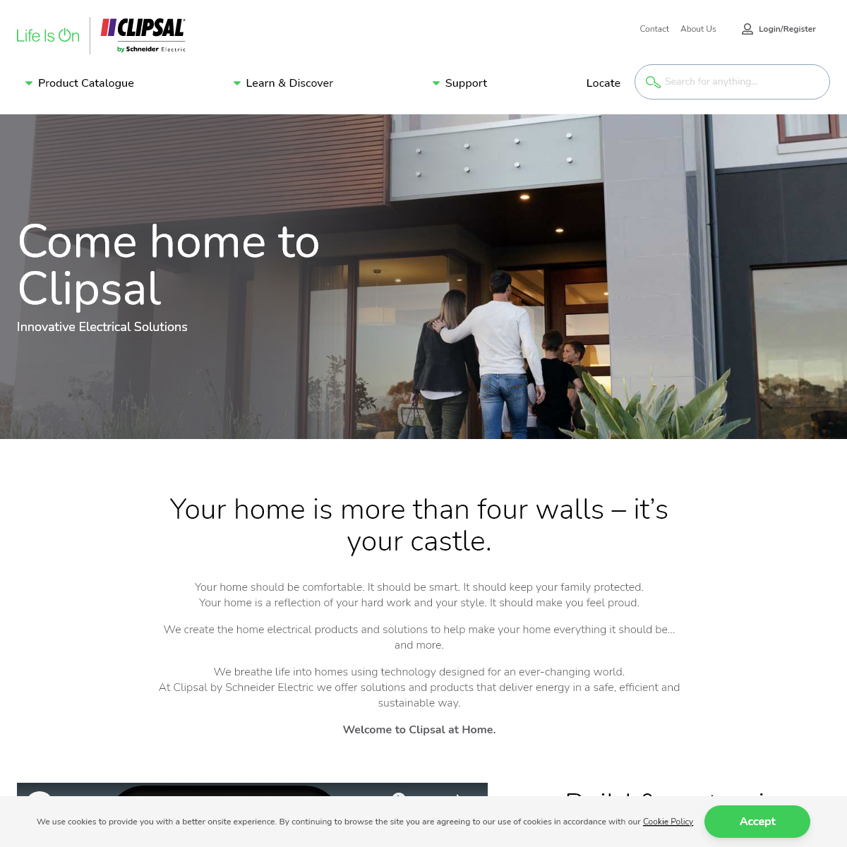 Innovative Electrical Products & Solutions - Clipsal by Schneider Electric - Clipsal by Schneider Electric
