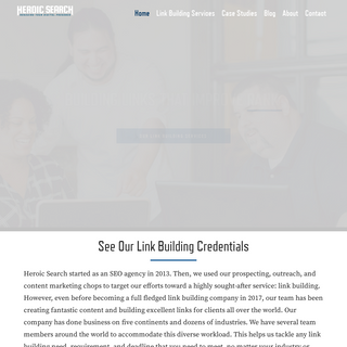 Link Building Company - Heroic Search