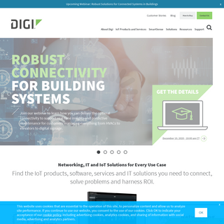 Digi - IoT Solutions, Software, Products, Services for the Industrial IoT - Digi International