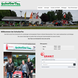 Willkommen bei SchuGarTec - SchuGarTec