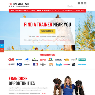 Sit Means Sit Dog Training- USA`s Top Dog Training Company
