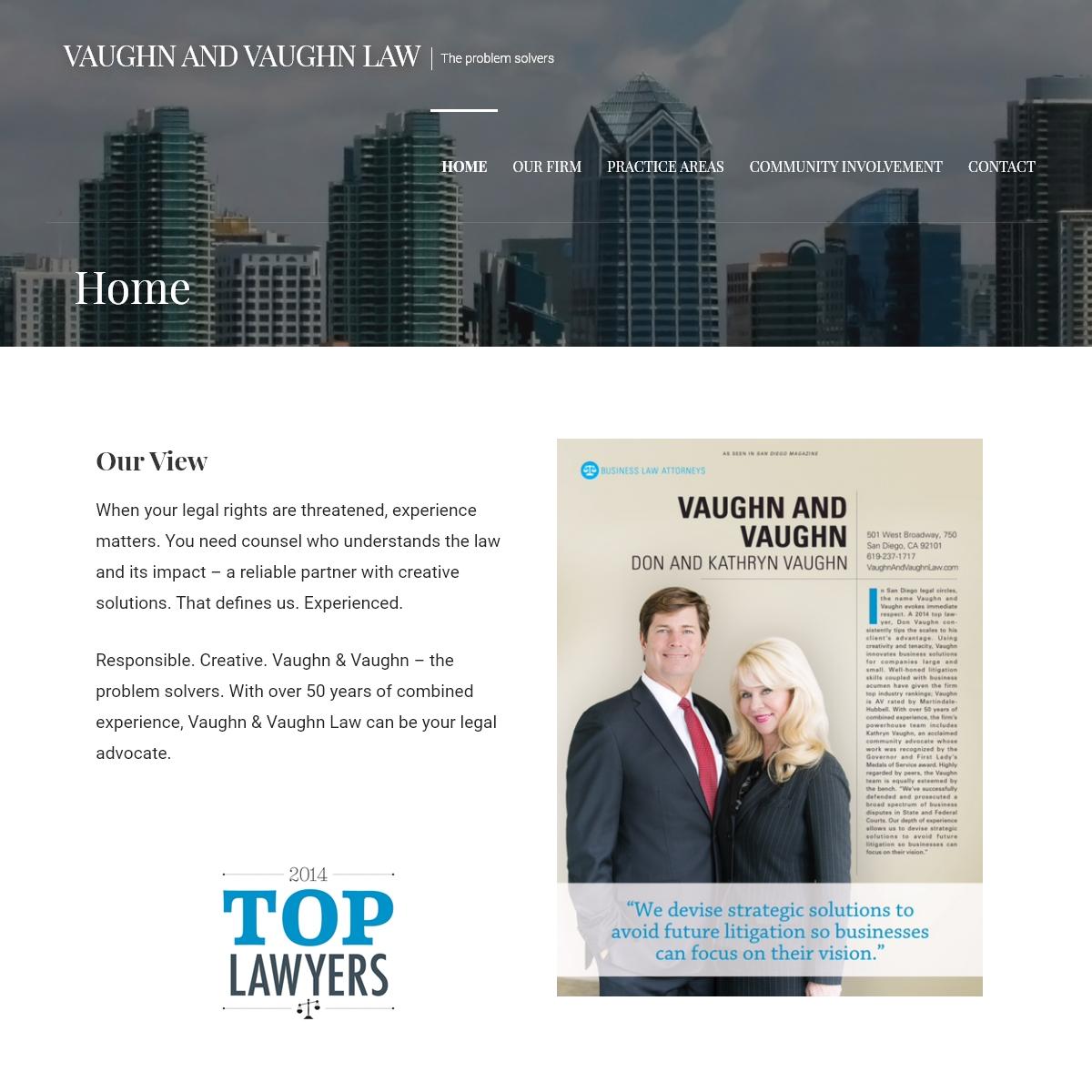 Vaughn and Vaughn Law