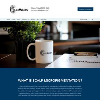 Home - ScalpMasters Inc.