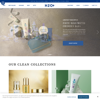 H2O+ Skincare - Japan Designed Clean Beauty, Clean Conscience