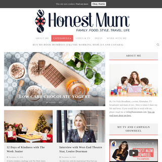 Honest Mum – Mummy Blog for honest mums and dads everywhere