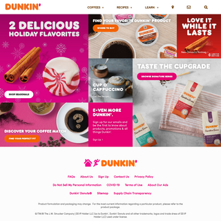 Dunkin'® at Home