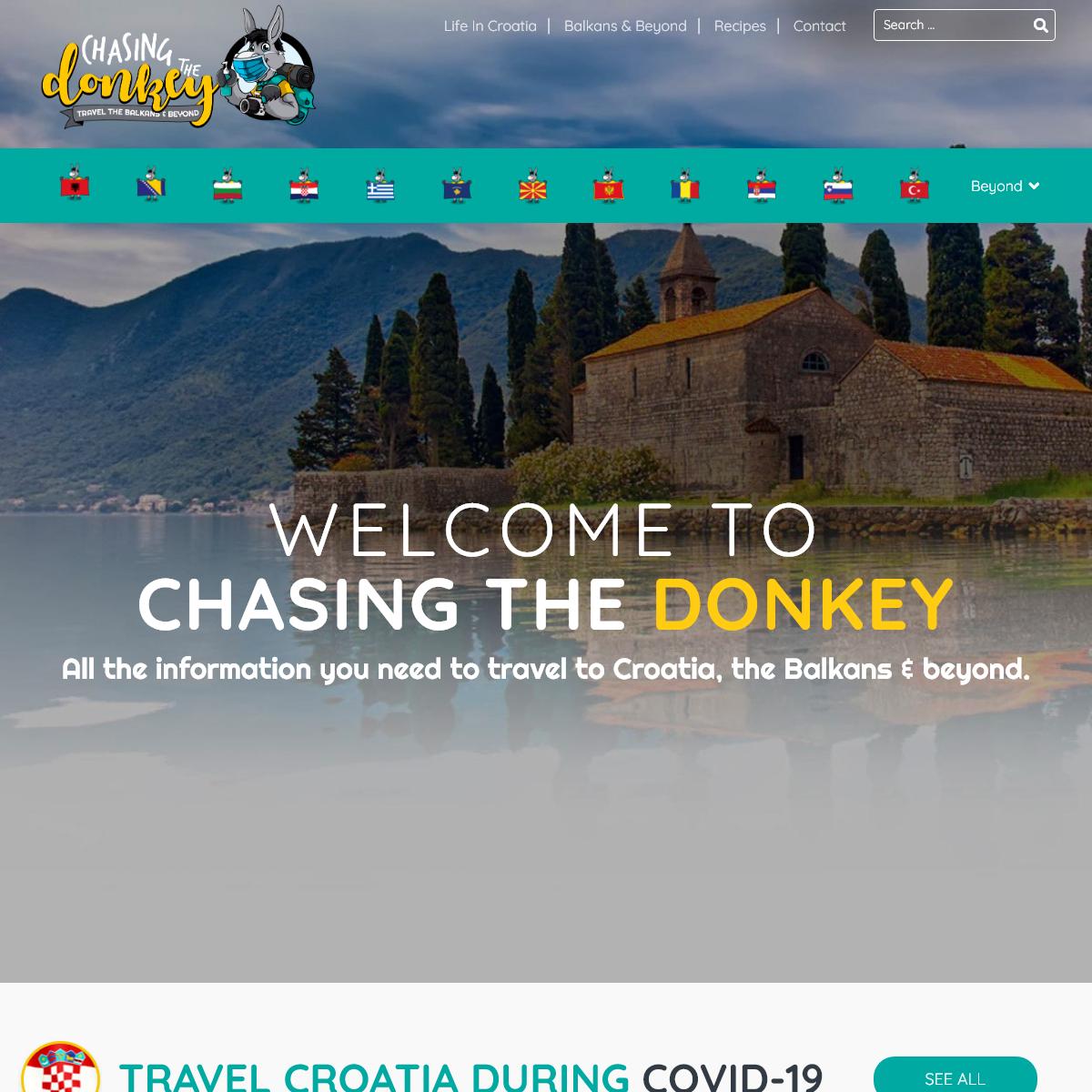 Chasing the Donkey Travel Blog - Balkans & Beyond