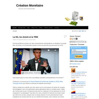Création Monétaire - Ğ1 pour une économie libre