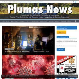 Plumas News - Plumas County News