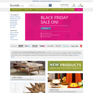 Furnish.co.uk- Modern designer furniture, lighting and home accessories