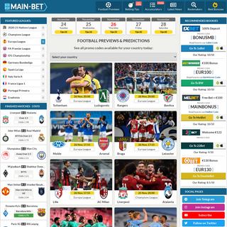 Football Blog- Match Previews, Free Predictions and News for Today