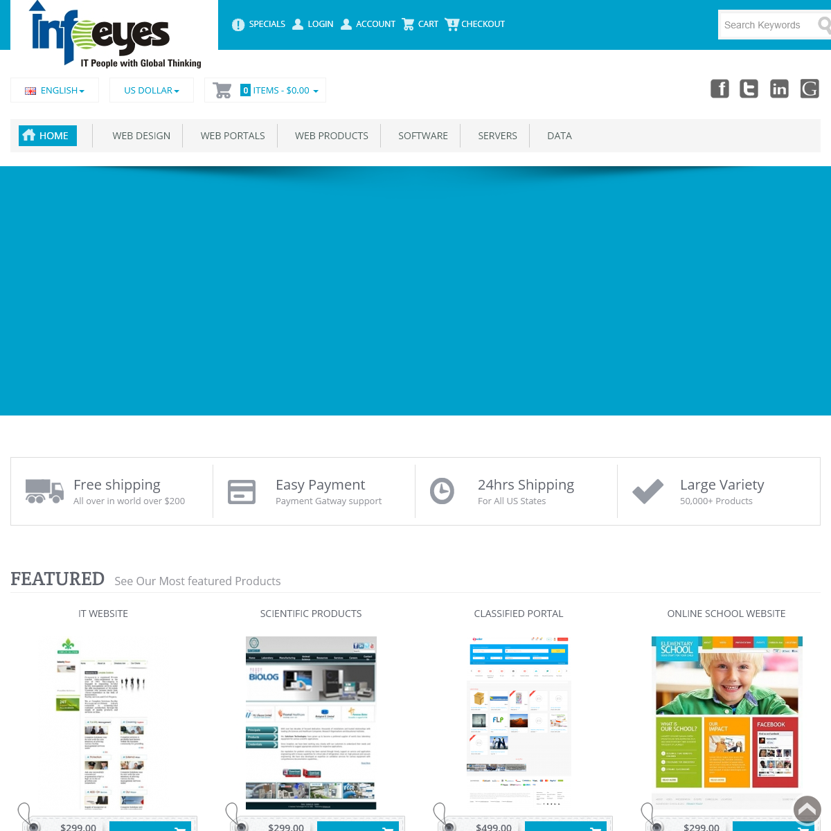 Infoeyes.net - Get Ready Scripts for Website And Software