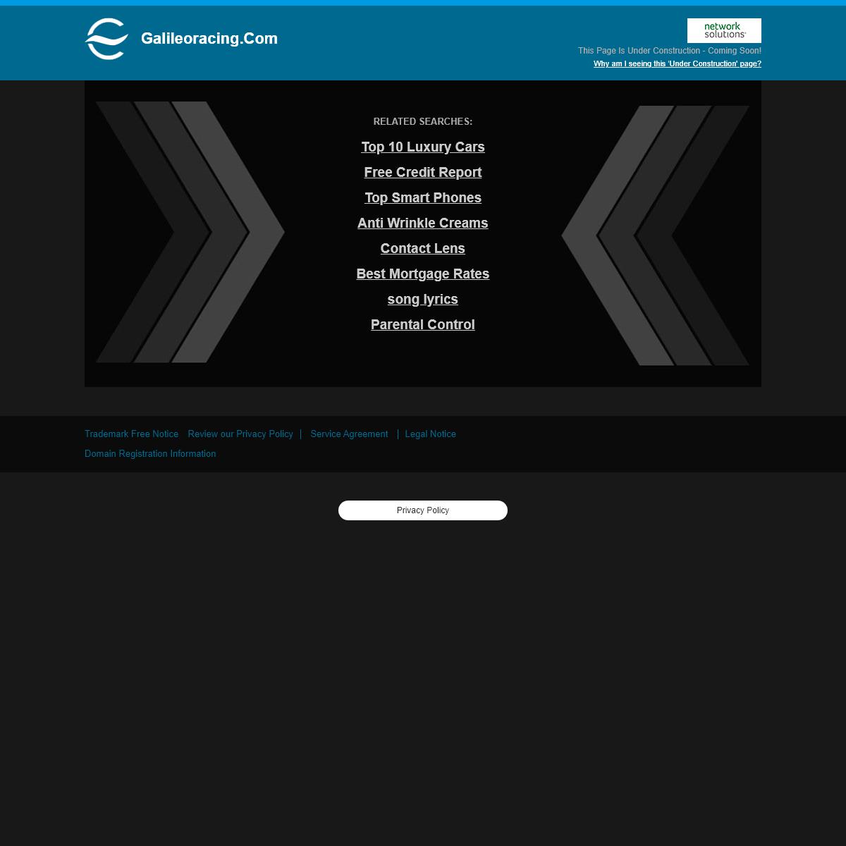 Galileoracing.com