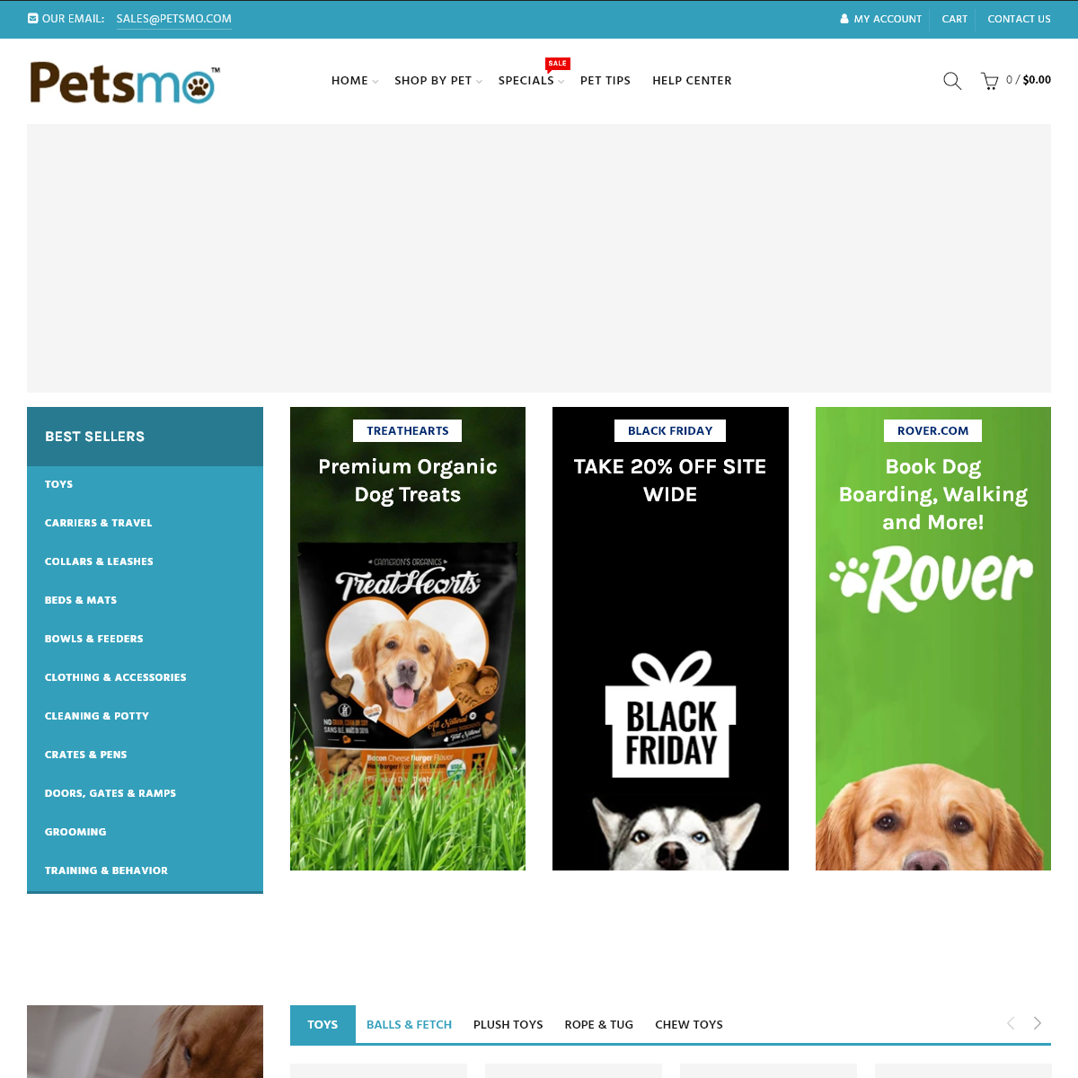 Petsmo - Shop Pet Supplies For Dogs, Cats, Birds, and Fish
