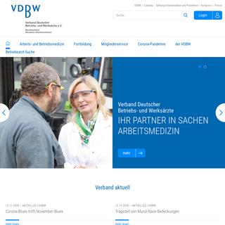 VDBW - Verband Deutscher Betriebs- und Werksärzte e.V.