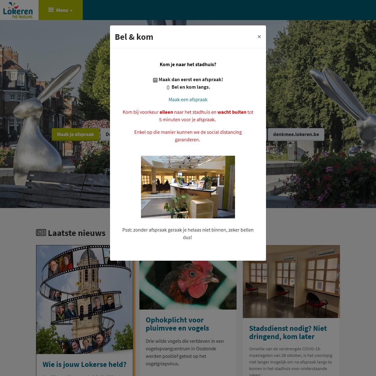 Startpagina - Stad Lokeren