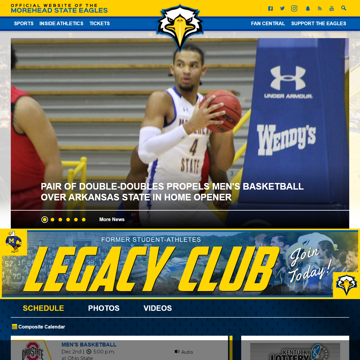 Morehead State University Athletics - Official Athletics Website