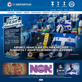 RCDeportivo - Página Oficial del R.C. Deportivo de La Coruña