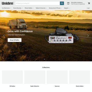 Uniden — Uniden America Corporation