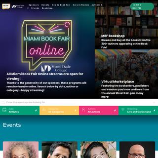 Home - Home - Miami Book Fair Online
