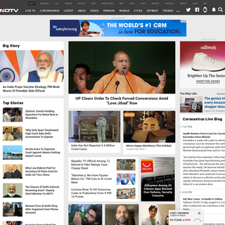 Get Latest News, India News, Breaking News, Today`s News - NDTV.com