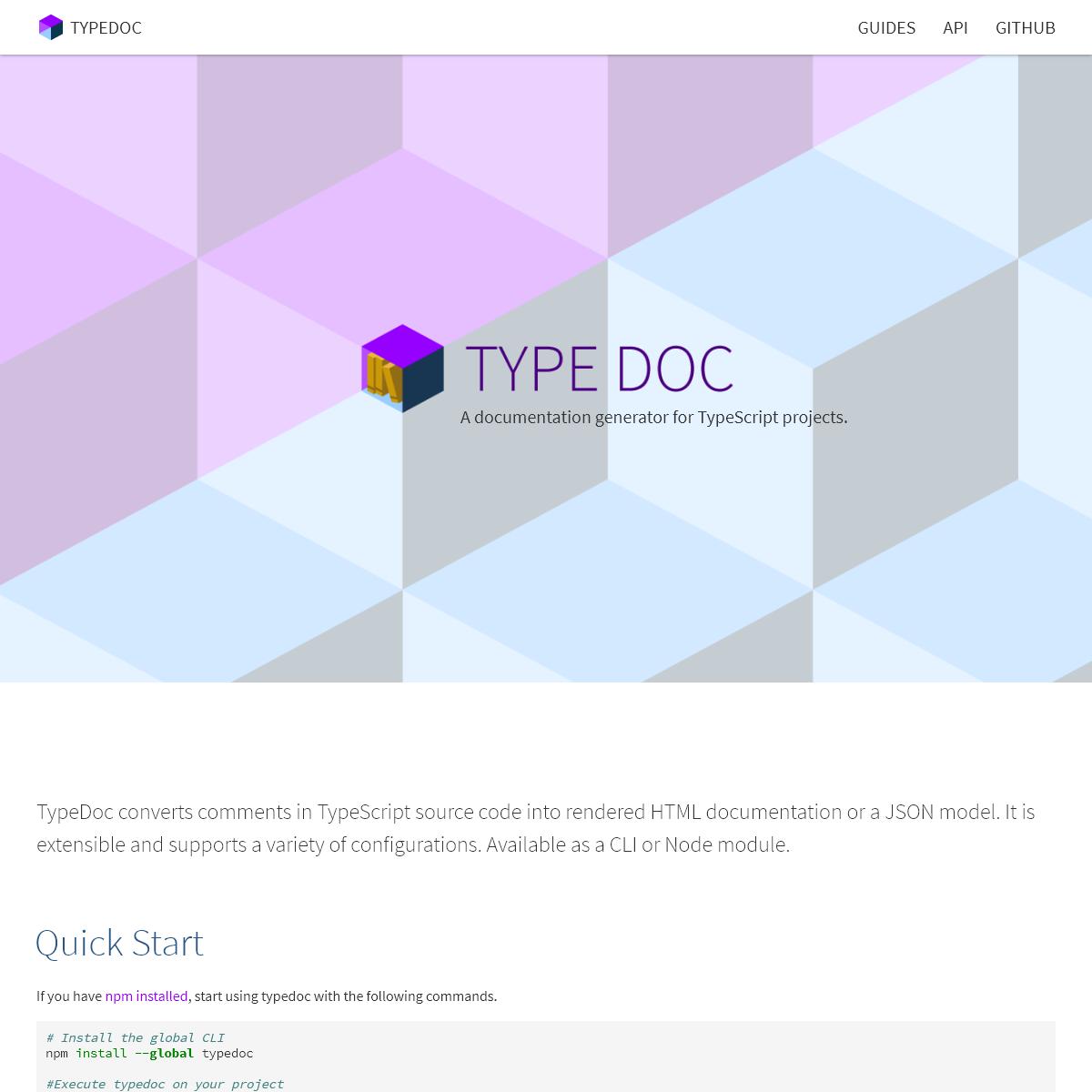 Home - TypeDoc