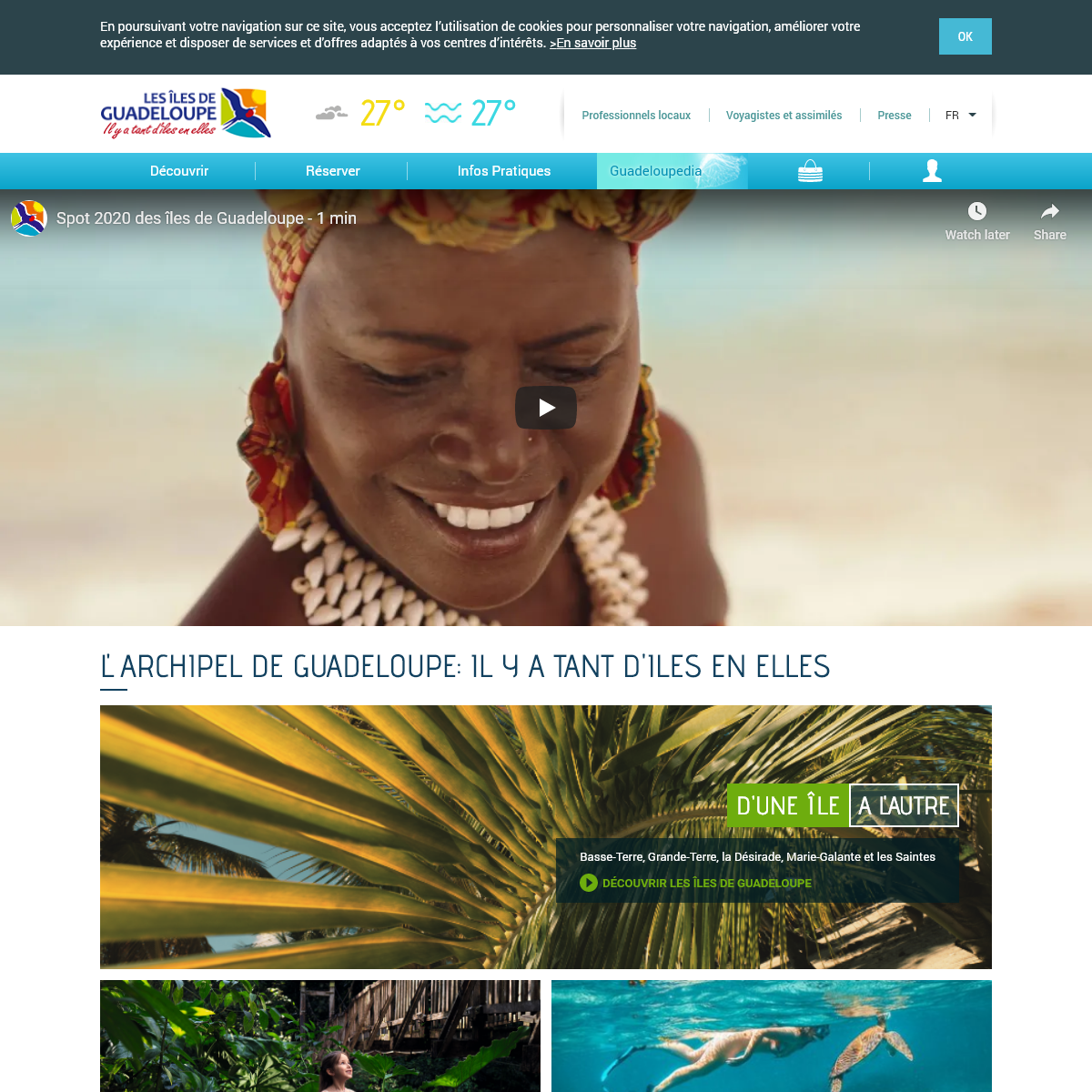 Les îles de Guadeloupe - Les îles de Guadeloupe