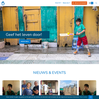 Homepage - Handicap International BE