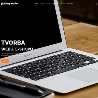 ESHOP MASTER - Tvorba webových stránek a eshopu
