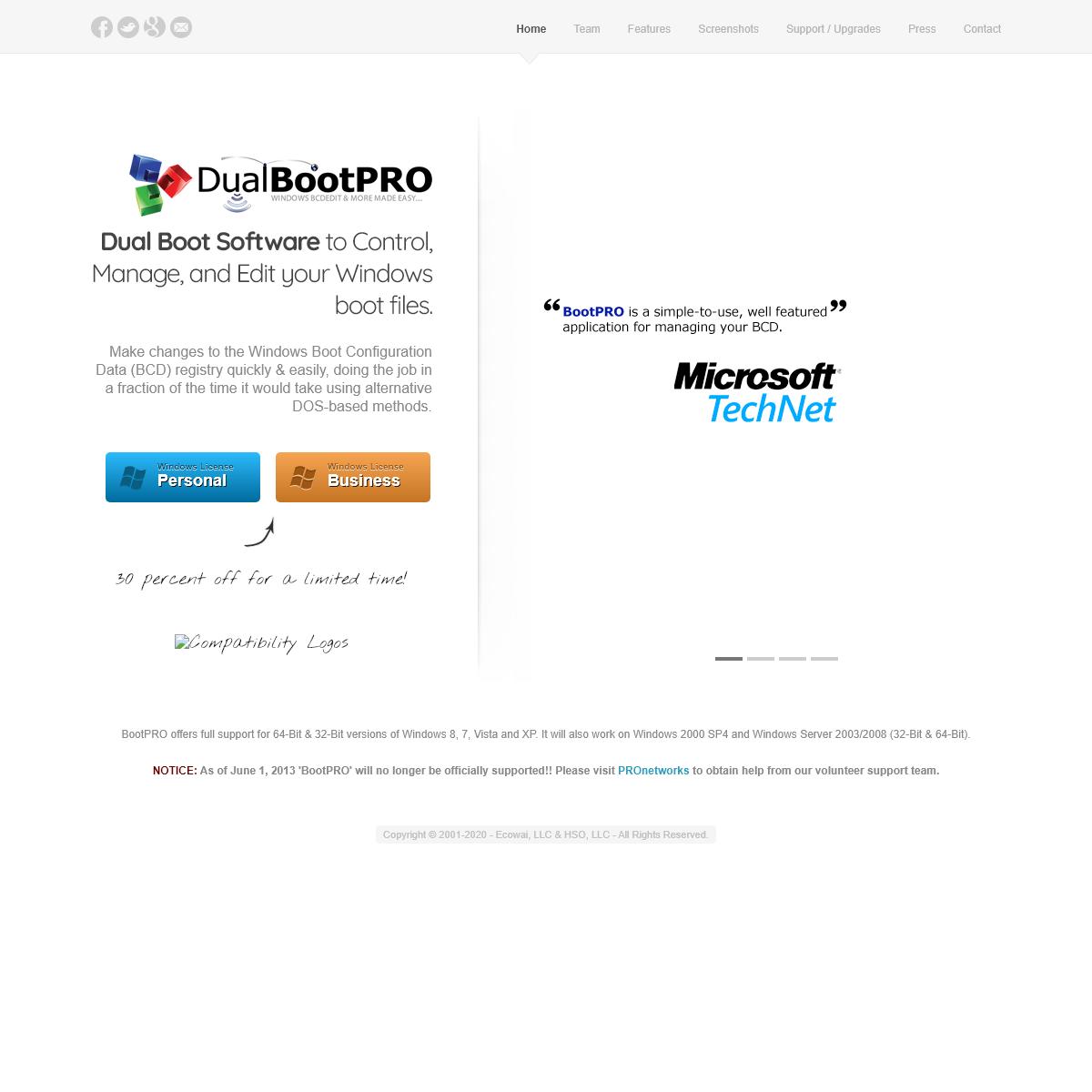 Windows Dual Boot Editor