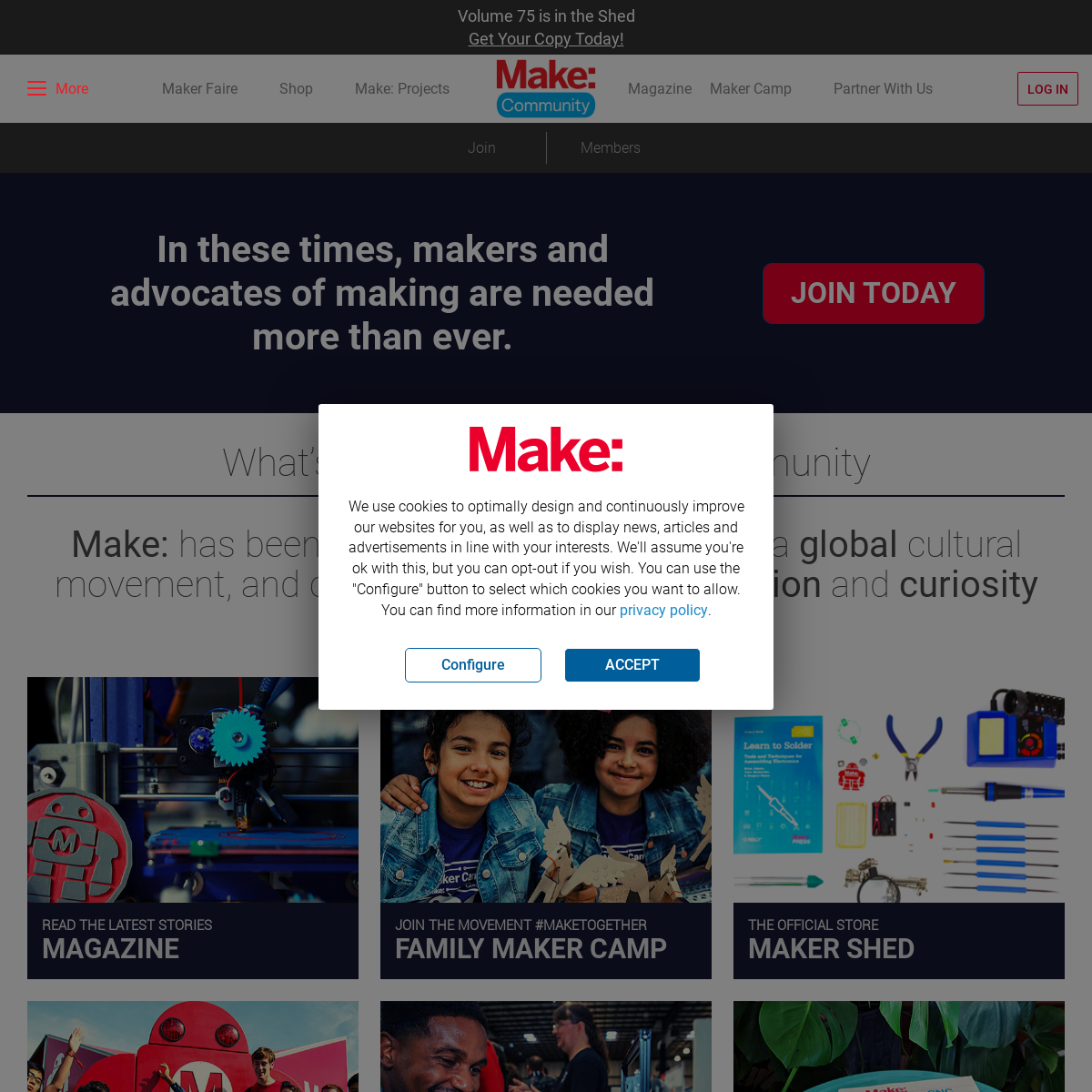 Home Page - Make Community