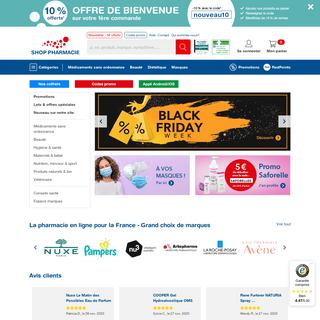 Pharmacie et parapharmacie en ligne ▷ SHOP PHARMACIE